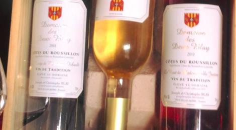 Domaine des deux Blay, côtes du roussillon rosé