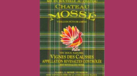 Chateau Mossé, Rivesaltes rouges