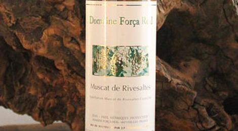 Domaine Forca Real, muscat de Rivesaltes