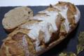Au Fournil de Caixas, pain seigle citron