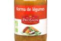 Maison Pro Sain, Korma de légumes