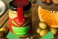 Les ANTONIN, velours d'olives vertes à l'orange confite