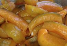 Aux délices des Aspres, melons confits
