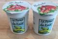 Ferme du Rialet, Yaourt à la rhubarbe