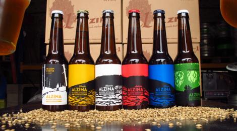 """Brasserie Alzina, Bière Blonde """"La Ginarda"""""""