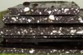 Patisserie Oster, tablette de chocolat aux éclats de touron