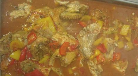 Boucherie de Mica, poulet à la Catalane