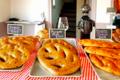 Jeux de pains, fougasses salées pour l'apéro