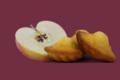 Biscuiterie Jeannette 1850, Normande - 8 madeleines pomme