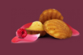 Biscuiterie Jeannette 1850, Ispahan - 8 madeleines rose framboise