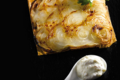 Tarte à l'oignon et au fromage blanc