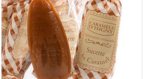 Sucettes au Caramel salé au sel de Guérande