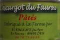 L'escargot du Faurou, pâtés d'escargots