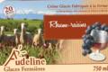Audeline, glace au lait de brebis. Rhum-raisins