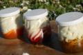La Marg'Aude, fromages blancs sur confiture