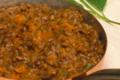 Maison Escudier. Lentilles cuisinées à la graisse d'Oie