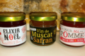 Safran de Gruissan, confit de vin muscat et safran
