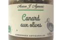 Conserverie Aymeric. Canard aux olives