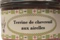 Conserverie Aymeric. Terrine de chevreuil aux airelles