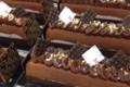 Boulangerie, Pâtisserie Le Dôme. Bûche feuilletine