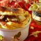 Vol au vent de Noël… au foie gras et légumes de saison… à la gelée d'or