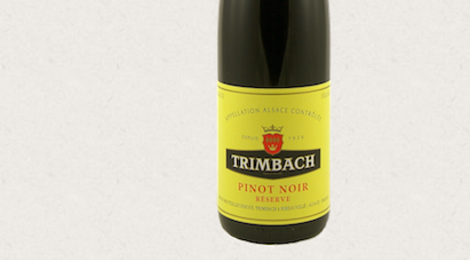 Trimbach. Vins d'Alsace. Pinot-Noir «Réserve» Cuve 7