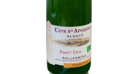 Domaine Du Bollenberg. Pinot Gris Tradition Bio