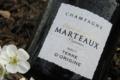 Champagne Marteaux. Brut Terre d'origine