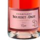 Champagne Sourdet Diot. Rosé brut