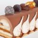 Chocolaterie Pâtisserie Nature de Cacao. La bûche ardéchoise