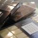 Chocolaterie Pâtisserie Nature de Cacao. Tablettes de chocolat