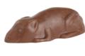 Jean Trogneux. souriceaux en chocolat praliné lait