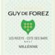 Champagne Guy de Forez. Champagne Brut Millésimé