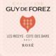 Champagne Guy de Forez. Champagne Brut Rosé