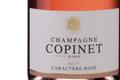 Champagne Marie Copinet. Brut Caractère rosé