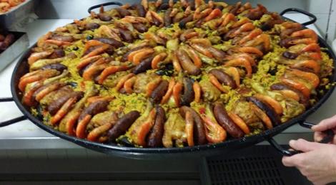 Boucherie brassacoise. Paella