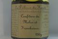 Les Délices de Fannette. Confiture de Melon et Framboises