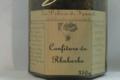 Les Délices de Fannette. Confiture de Rhubarbe