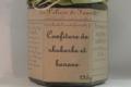 Les Délices de Fannette. Confiture de Rhubarbe et Banane