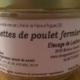 Elevage de Lasfons. rillettes de poulets fermiers
