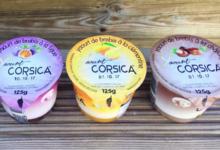 Yaourt Corsica. Yaourt au lait de brebis à la clémentine