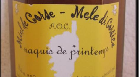 Miel de Corse. Sophie Fontana. Maquis de printemps (typé bruyère arborescente)