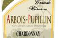 """Fruitière vinicole de Pupillin. Arbois-Pupillin Chardonnay """"Grande Réserve"""""""