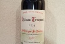 AOC Saint Georges Saint Emilion - Chateau Troquart 2014