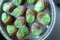 """Les escargots du Thiéloup. Coquilles beurre """"ail des ours"""""""