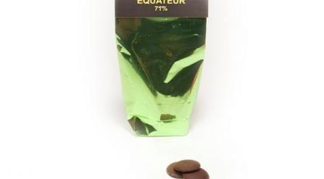 Mickaël Azour. Pastilles chocolat Equateur 71%