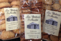 Biscuiterie Les délices d'Aurélie. Canistrelli farine de châtaigne, figues et noix