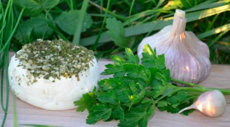 """GAEC """"Aux Fromages de Compostelle"""". ail et fines herbes"""