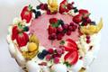 Pâtisserie St Michel. Vacherin sorbet fruits des bois & citron