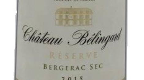 Château Belingard Réserve sec 2015 Bergerac